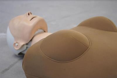 Introducing the world's first female manikin for CPR training