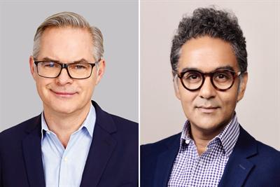 McCann names Chris Macdonald CEO and chair, Harjot Singh global CSO