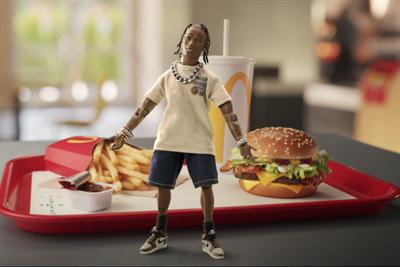 Rapper Travis Scott's favorite McDonald's meal now ready to order