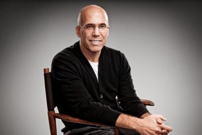 Jeffrey Katzenberg named Cannes Lion Media Person of the Year