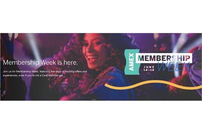 American Express kicks off Membership Week to show off all of its perks