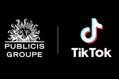 Publicis Groupe partners with TikTok on social commerce