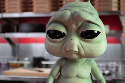 Pizza Hut's homesick alien ad breaks the QSR mold