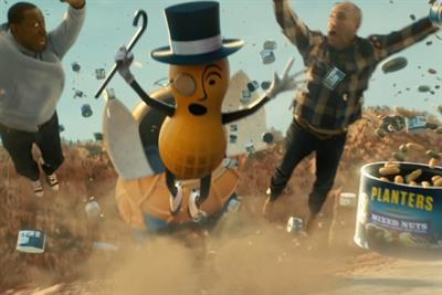 RIPeanut: Mr Peanut sacrifices himself in heart-wrenching act of heroism