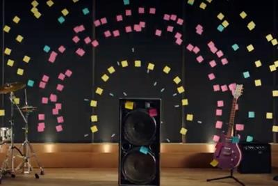 Post-it Notes are sexy again thanks to Venables Bell & Partners