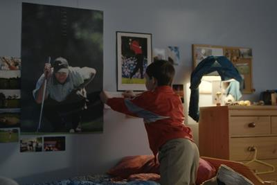 Rory McIlory meets his inspiration Tiger Woods in Nike film