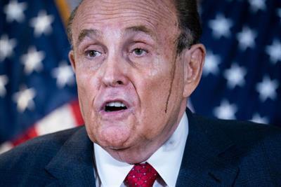 Just for Men trolls Rudy Giuliani: 'We keep high-profile moments drip-free'