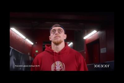 The 'eyes' have it for Zenni Optical's first Super Bowl spot