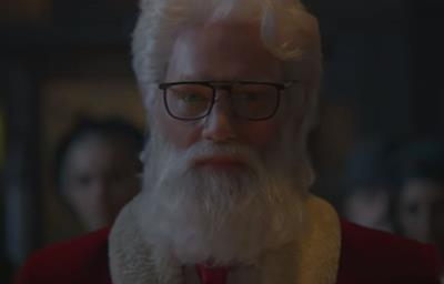 Santa sheds some serious weight in Audi's new ad