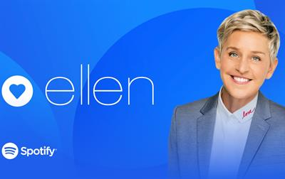 Attention, music fans: Spotify, Ellen DeGeneres are teaming up