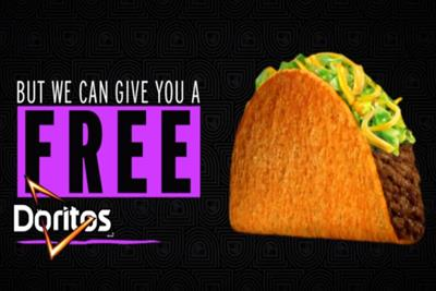 Taco Bell can't give out hugs, but it can share 1 million tacos