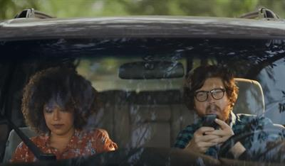 'Text and whatever -- just don't text and drive': Ad Council's new PSA