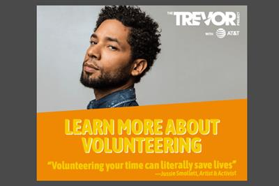 AT&T backs The Trevor Project's LGBTQ suicide prevention push