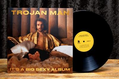 Trojan Man sings, 'I touched a penis today,' on Big Sexy Album