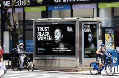 Outdoor campaign asks New Yorkers to 'Trust Black Women'