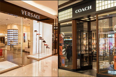 Coach, Versace under Chinese fire for problematic country listings