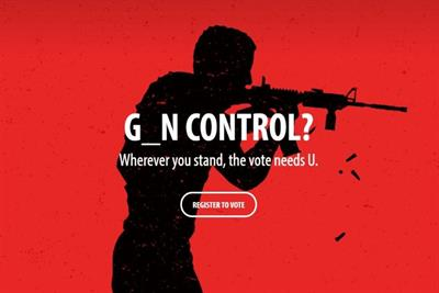 Gun control and equal rights used in provocative voting drive