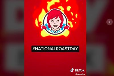 No platform is safe: Wendy's brings National Roast Day to TikTok for first time