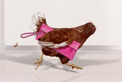 """Harvey Nichols """"headless chickens"""" by Adam & Eve/DDB"""