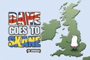 VisitSweden 'Dave goes to Skane' by Glue London