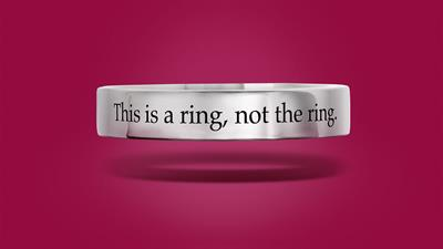 Helzberg Diamonds creates a 'Will You' proposal ring