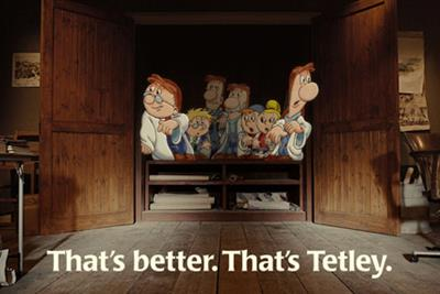Tetley 'tea folk' by MCBD