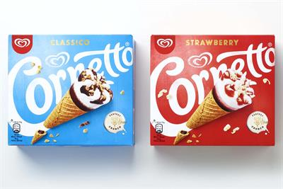 "Unilever ""Cornetto global design"" by Design Bridge"