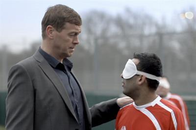 Paddy Power 'blind football' by Big Als Creative Emporium