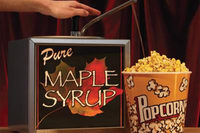 Canadian Film Festival 'maple syrup' by JWT Toronto