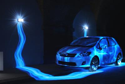 Toyota 'get your energy back' by glue Isobar