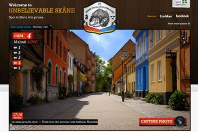 VisitSweden 'Skåne Troll Spotters Club' by glue Isobar