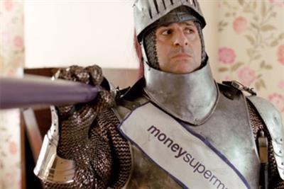 Moneysupermarket 'knight' by MCBD