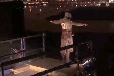 """Twentieth Century Fox """"Assassin's Creed: leap of faith"""" by Channel 4 and The Outfit"""