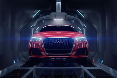 "Audi ""birth"" by Bartle Bogle Hegarty"
