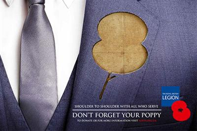 The Royal British Legion 'Poppy Appeal' by CST The Gate