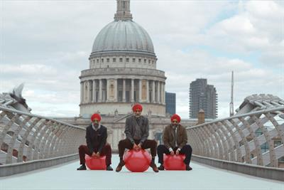 """British Heart Foundation """"Ramp Up The Red"""" by Grey London"""