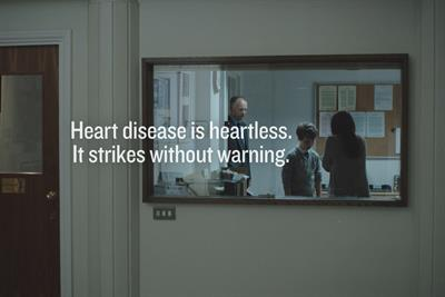 "British Heart Foundation ""classroom"" by DLKW Lowe"
