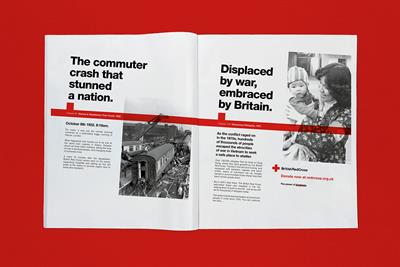 """British Red Cross """"Continue the story"""" by Creature"""