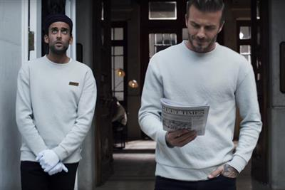 David Beckham leads the fashion pack in new H&M ad