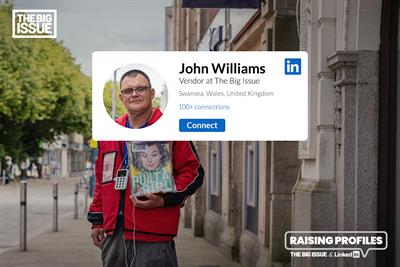 """The Big Issue """"Raising profiles"""" by FCB Inferno"""