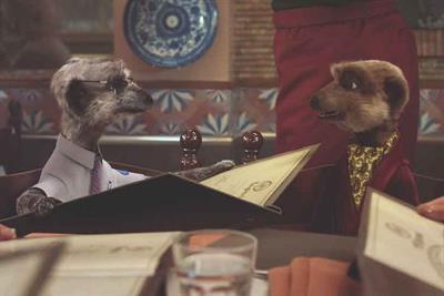 "Comparethemarket.com ""Meerkat movies"" by VCCP"