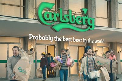 "Carlsberg ""supermarket"" by 72andSunny Amsterdam"