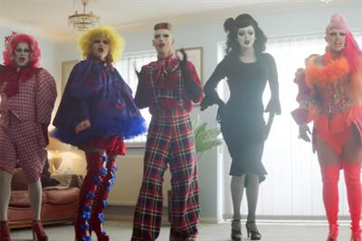"Channel 4 ""God save all queens"" by 4Creative"