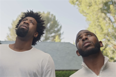 Falling trees prove formidable foes for NBA stars in State Farm spot