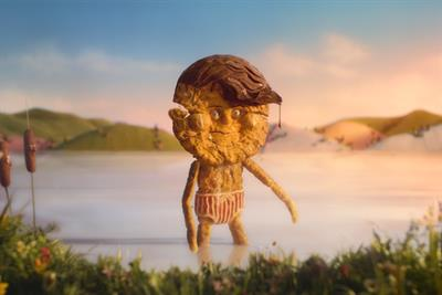"""Cravendale """"Barry the biscuit boy"""" by Wieden & Kennedy"""
