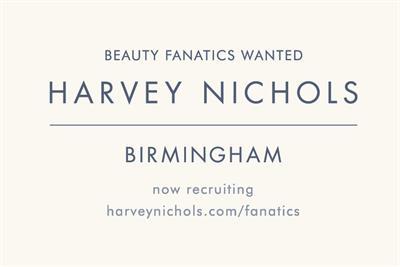 """Harvey Nichols """"fanatics wanted"""" by Adam & Eve/DDB"""