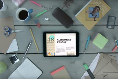 "The Alzheimer League ""simplified stories"" by DDB Brussels"