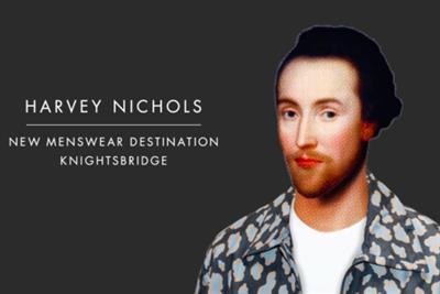 "Harvey Nichols ""great men deserve great style"" by Adam & Eve/DDB"