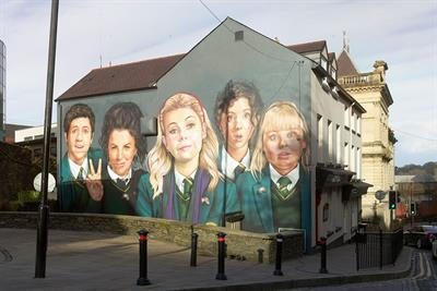 "Channel 4 ""Derry Girls"" by 4Creative"