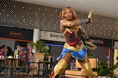 Serena Williams transforms into Wonder Woman for DirecTV